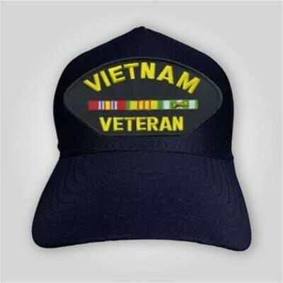 Vietnam Veteran Emblem Cap