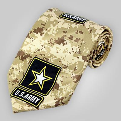 US Army Digital Desert Camo Neck Tie