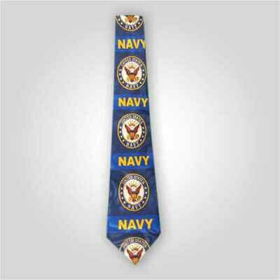 US Navy Emblem Neck Tie