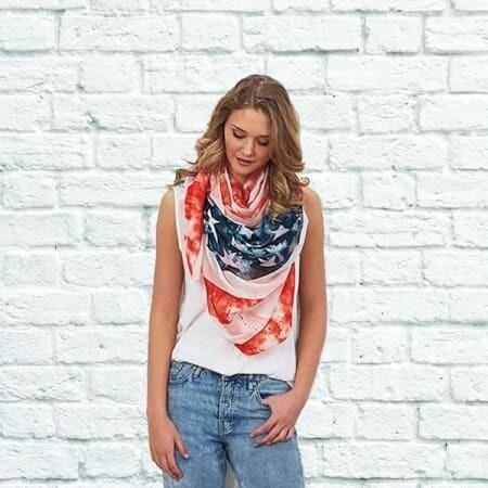 Americana Oversized Scarf