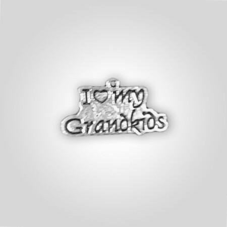 """I Love My Grandkids"" Charm"