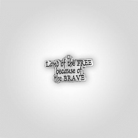 """Land of The Free"" Charm"