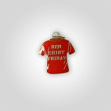 Red Shirt Friday Charm