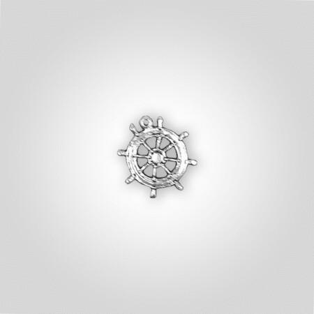 Ships Wheel Charm
