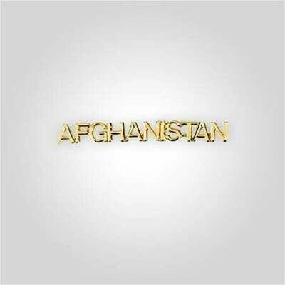 Cap Bar Pin - Afghanistan