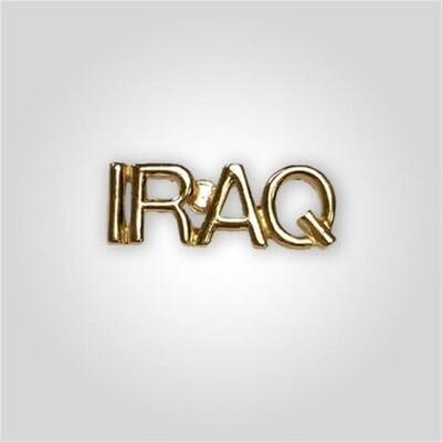 Cap Bar Pin - Iraq