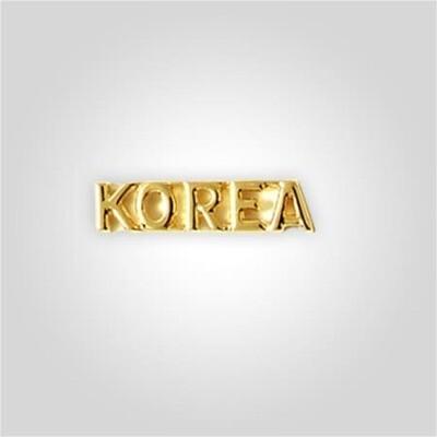 Cap Bar Pin - Korea