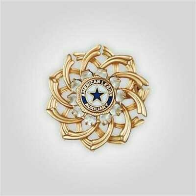 Double Spiral Auxilary Emblem Pin
