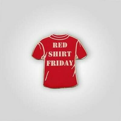 Red Shirt Friday Pin