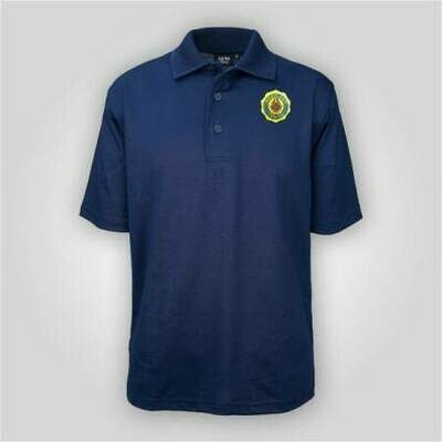 Legion Emblem Navy Polo AKWA