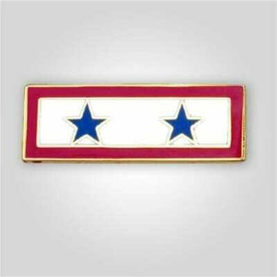 Blue Star Service Tack - Two Stars
