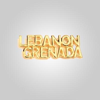 Cap Bar Pin - Lebanon Grenada