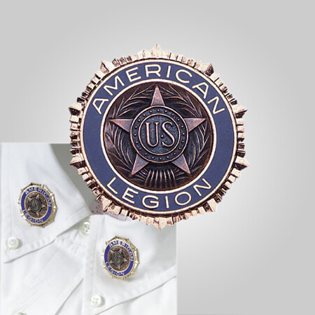 Legion Collar Emblem 1 1/4'' Dual nail