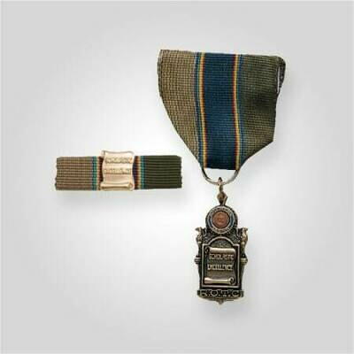ROTC Scholastic Excellence Medal with Ribar Bronze