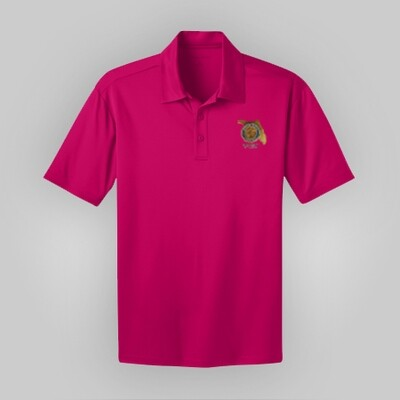 Pink Raspberry Polo Mens