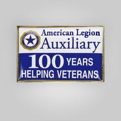Auxiliary Centennial Pin