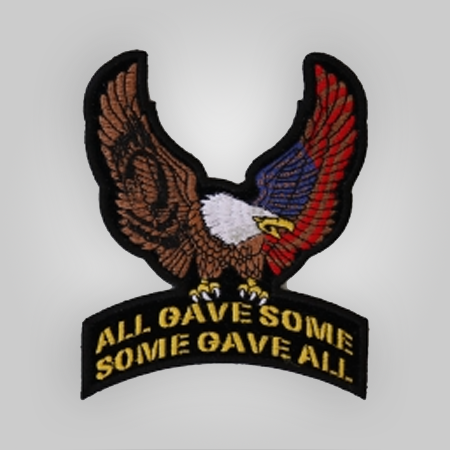 All Gave Some Eagle Patch