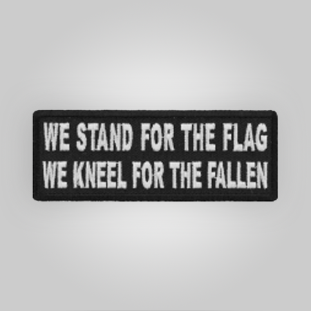 We Stand Patch