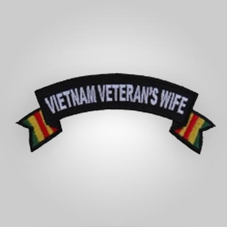 Vietnam Vet Wife Patch