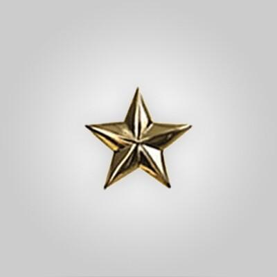 Metal Stars Gold