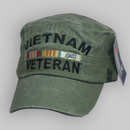 Vietnam Veteran Flat Top Cap