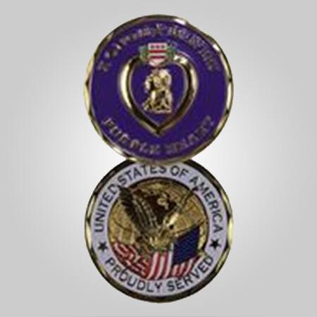 Purple Heart Coin
