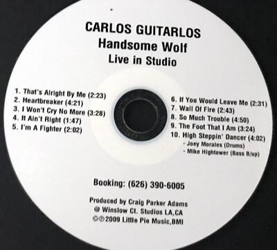 CD-Handsome Wolf  ((Live in Studio))