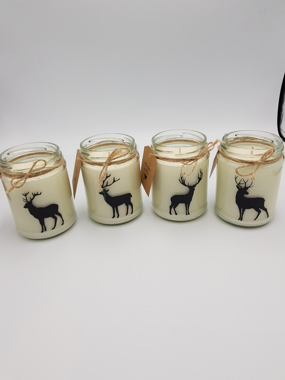 Unscented Jar Candle