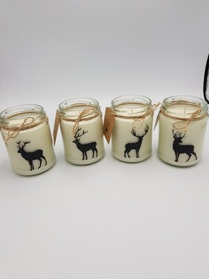 Unscented Jar Candle