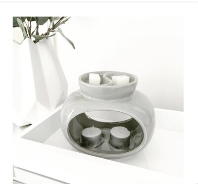 Rome Deluxe Double Wax Melt Warmer