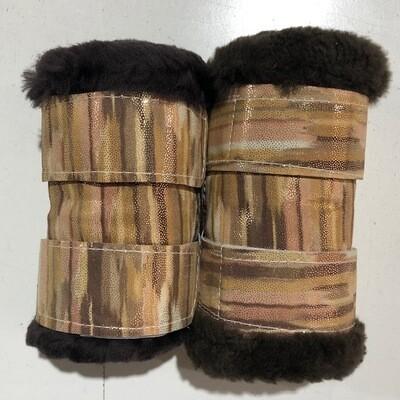 Sheepskin Show Boots (Small Pony)