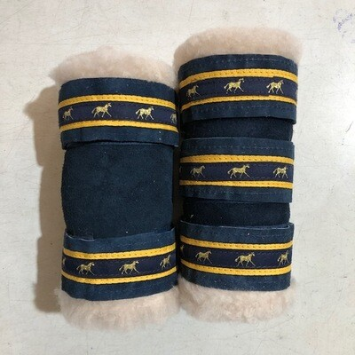 Sheepskin Deluxe Show Boots (Cob)
