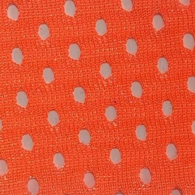 Fluro Orange Airmesh