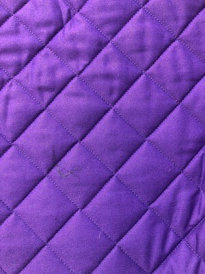 Purple Cotton Quilting