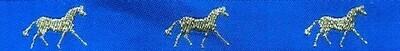 Horse Binding- Royal/ Gold Horse