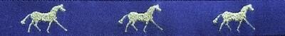 Horse Binding- Purple/ Gold Horse