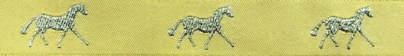 Horse Binding- Gold/ Gold Horse