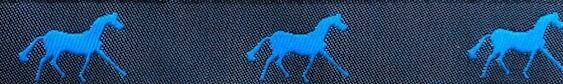 Horse Binding- Black/ Aegean Horse