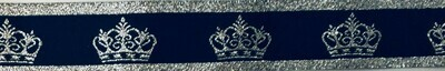 Navy/Silver Crown