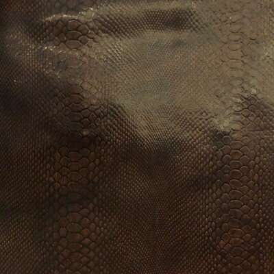 Brown Snake Print no.7