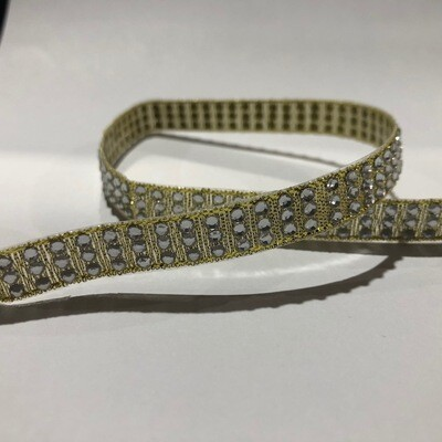 Diamante  Ribbon - per metre