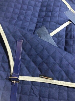 6'0 Quilted Paddock Rug (Lightweight) with Belly Warmer