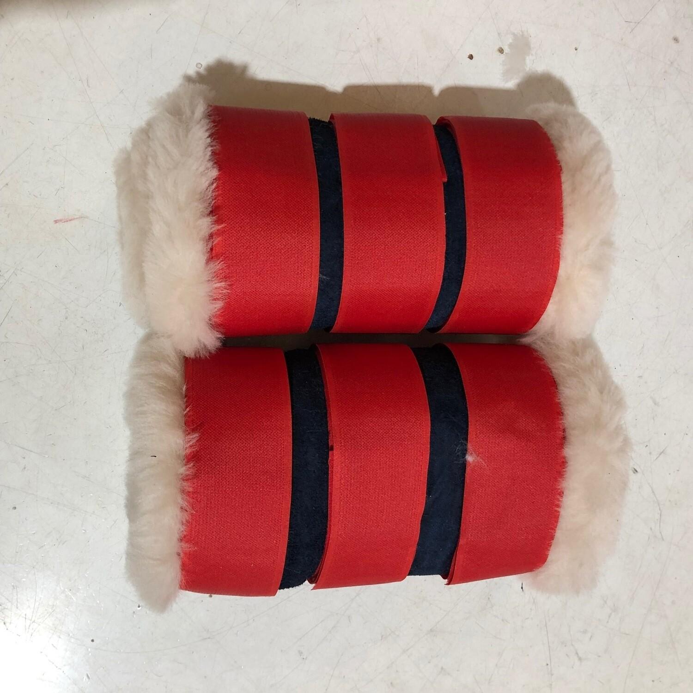 Rolled Sheepskin Paddock Boots (Full)