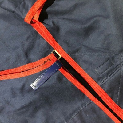 5'3 Moleskin Two Tone Rug & Tailbag