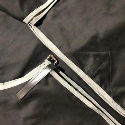 6'3 Moleskin Rug & Tailbag
