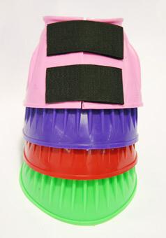 Bellboots Rubber slip on - pony - Pink