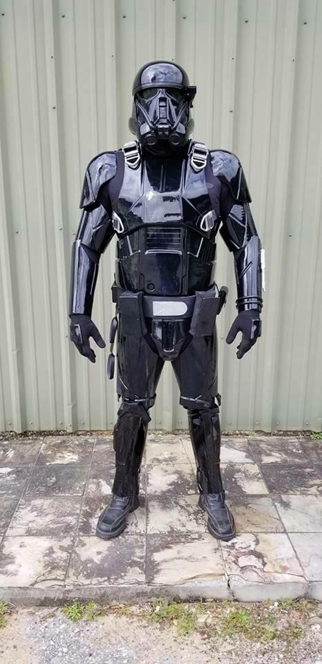 Rogue One Death Trooper Built Ready to wear costume with helmet