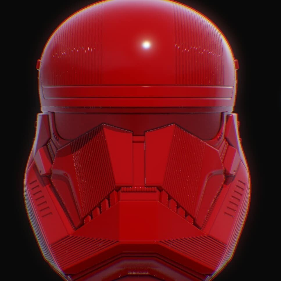 Red trooper HELMET pre order