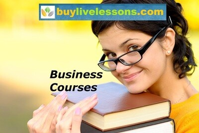 BUY 60 BUSINESS LIVE LESSONS FOR 30 MINUTES EACH.