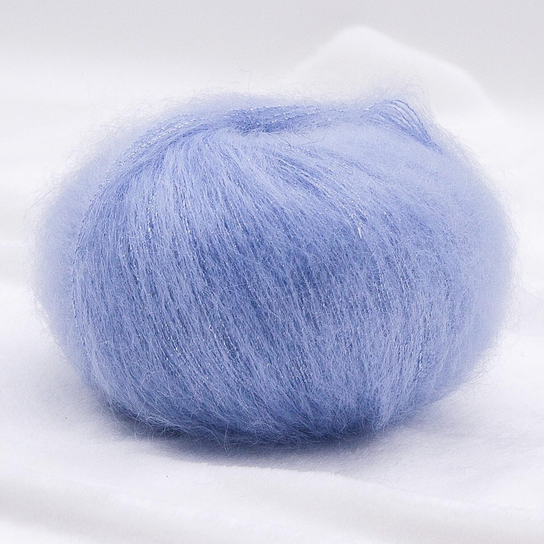 Silk mohair LUX  (8484/Небесно-голубой)